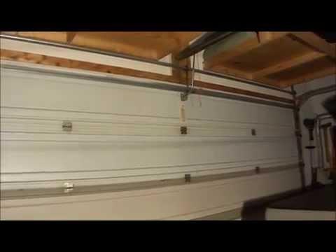 TorqueMaster Garage Door Spring Fix