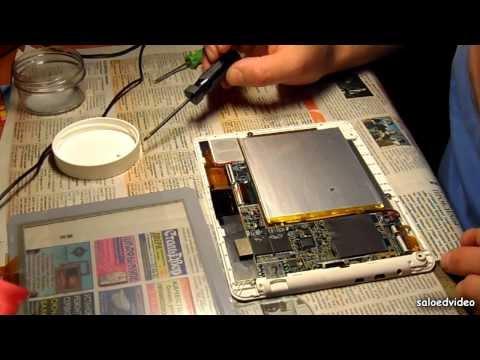 Teclast P88 Как заменить стекло (тач) в планшете - Видеоинструкции: Как сделать своими руками