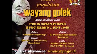 """Pagelaran Wayang Golek - Lakon """"Semar Tandang"""" - Bandung, 30 Mei 2016"""