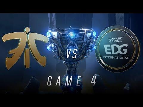 FNC vs EDG   Quarterfinal Game 4   World Championship   Fnatic vs Edward Gaming (2018)