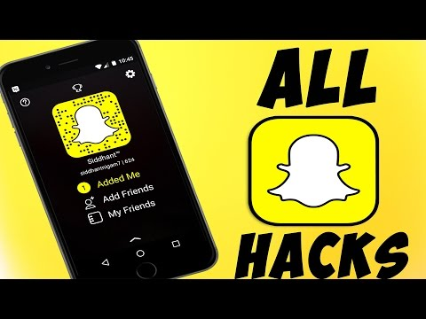 Snapchat Hacks,Secret Features,Tips And Tricks NEW For Android & iOS 2017 *NEW UPDATED*