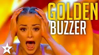 ALL GOLDEN BUZZERS on Britain
