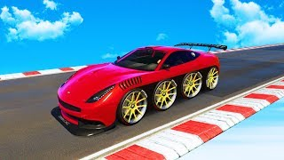 THE SECRET TO WINNING ANY RACE! (GTA 5 Funny Moments)