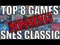 Top 8 Games Missing From The SNES Classic Edition | 8-Bit Eric