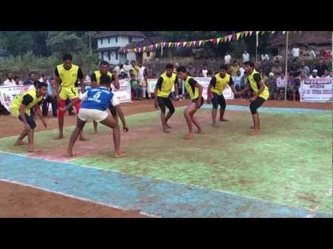 Byndoor Open District Kabaddi Tournament 10feb 2013 Final First Half Cosmos Vsjakteshwara video