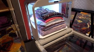 Hate Folding Laundry? This Machine Will Fold It For You!