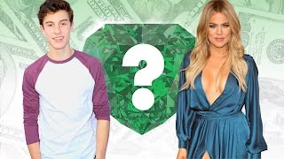 WHO'S RICHER? - Shawn Mendes or Khloe Kardsashian? - Net Worth Revealed!
