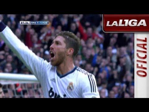 Gol de Sergio Ramos de cabeza (2-1)