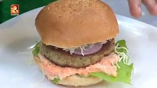 Annies Kitchen With Play Back Singer Jyotsna Radhakrishnan | Chicken Burger |