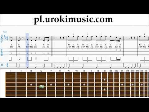 Nauka Gry Na Gitarze The Chainsmokers - Sick Boy Nuty Poradnik Um-ih463