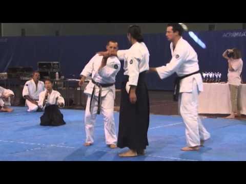 Excellent Aikido Demonstration Mori Shihan