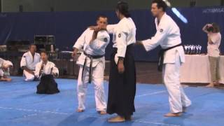Excellent Aikido Demonstration Mori Shihan