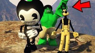 ¿¿ PODRÁ BENDY Y BORIS ESCAPAR DE LEGO HULK ?? (GTA 5 Mods)