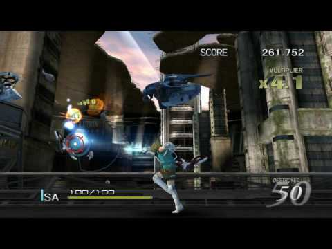 Sin & Punishment 2 on Dolphin Emulator (720p)