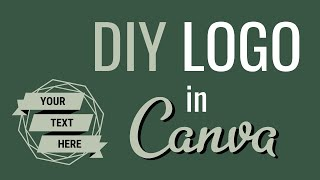 How to Make a Logo | Canva Tutorial