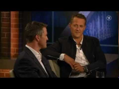 Beckmann am 30.08.12 : Michael Schumacher und sein Bruder Ralf bei