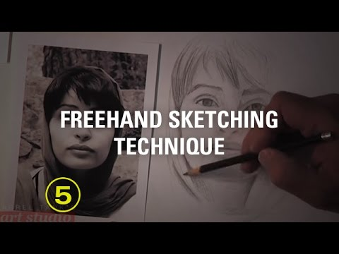 Freehand Sketching Techniques For the Beginner Artist (Sketching #1)