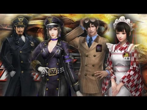Dynasty Warriors 8 - Modern Job DLC Costumes!! (Comentary)