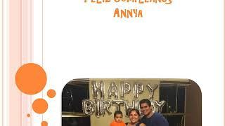 Cumpleaños de Annya