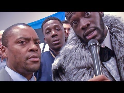"Deontay wilder ""JOSHUA I'M COMING "" 