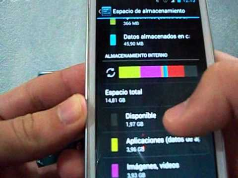 Cambio de Memoria Externa a Interna en Samsung Galaxy S Advance con CM 10.1