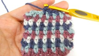 How To Crochet the Linen Stitch, Episode 240
