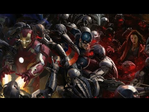 Marvel's The Avengers: Age of Ultron - Hall H Panel B-Roll Part 1 - San Diego Comic Con 2014