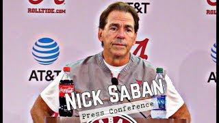 Nick Saban Press Conference