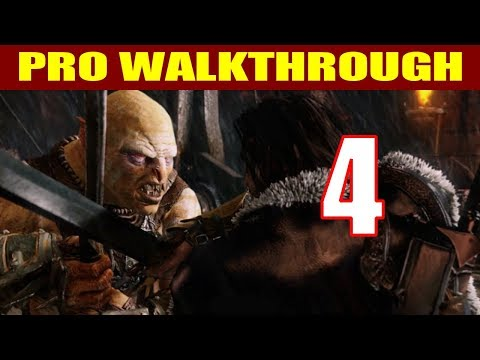 Shadow of Mordor Walkthrough Part 4 - Captains, Power Missions & Intel BOOT CAMP