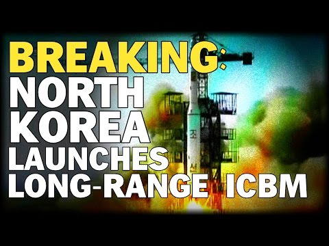 BREAKING: WORLD HOLDS BREATH AS NORTH KOREA LAUNCHES LONG-RANGE ICBM