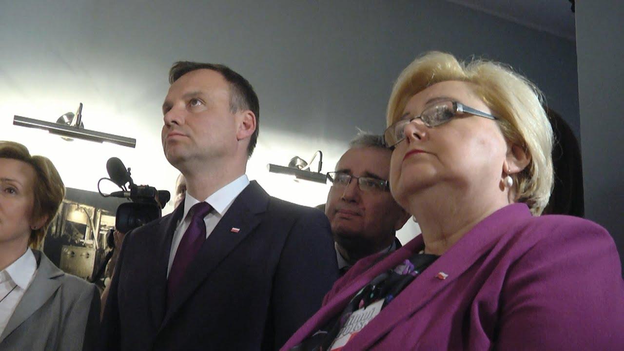 Andrzej Duda w Radzionkowie