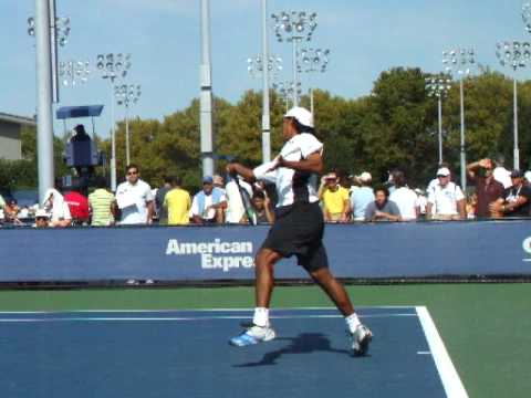 Somdev Devvarman (IND) at the US Open 2009