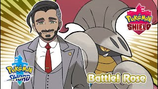 Pokemon Sword & Shield - Chairman Rose Battle Music