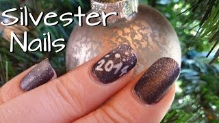 ☆ Silvester Nails ☆ [Easy Nailart Tutorial]