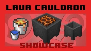 Lava Cauldrons - Safe disposal + Hidden feature
