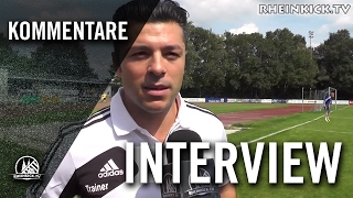Interview mit Giuseppe Spitali (Trainer FC Bergheim 2000) | RHEINKICK.TV