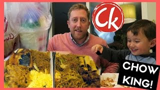 Chow King Bangus & HALO HALO!  | MUKBANG Eating Show