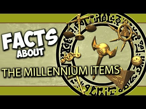 Facts About The Millennium Items - Yu-Gi-Oh! Trivia