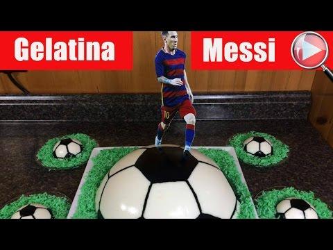 """Lionel Messi / Una Creativa """"Gelatina"""" para la Familia - Recetas en Casayfamiliatv"""