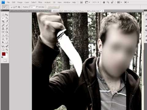 Как сделать лицо квадратиками на фото