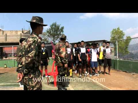 Army recruitment by Assam Rifles of the Indian Army