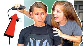 I CAN'T BELIEVE SHE CUT MY HAIR! **GONE WRONG?!**