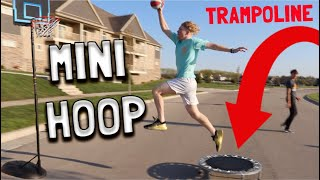 Mini Trampoline Game Of D.U.N.K!