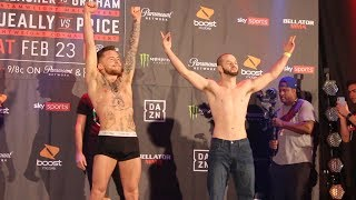 Bellator 217 Ceremonial Weigh-In Highlights - MMA Fighting