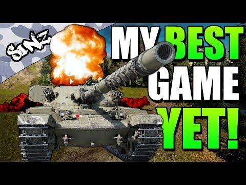 MY BEST GAME YET!  - World of Tanks Console | Chieftain Mk. 6 Gameplay