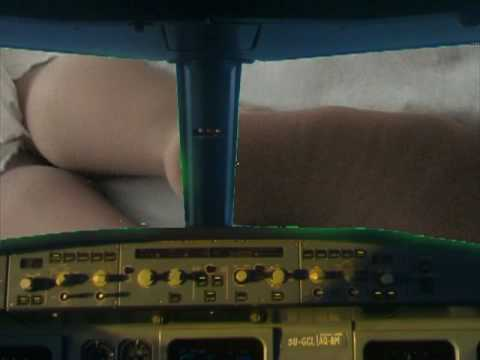 Giantess Twilight Zone Airplane Crash! Video