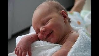 Cutest sleeping baby 😴  Cute is not Enough 😍 Baby smiling 👶 while sleep |Funny Babies Compilation