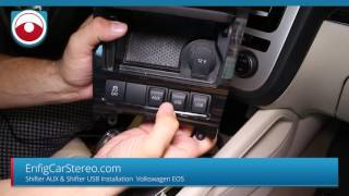 Volkswagen Custom AUX and USB ports