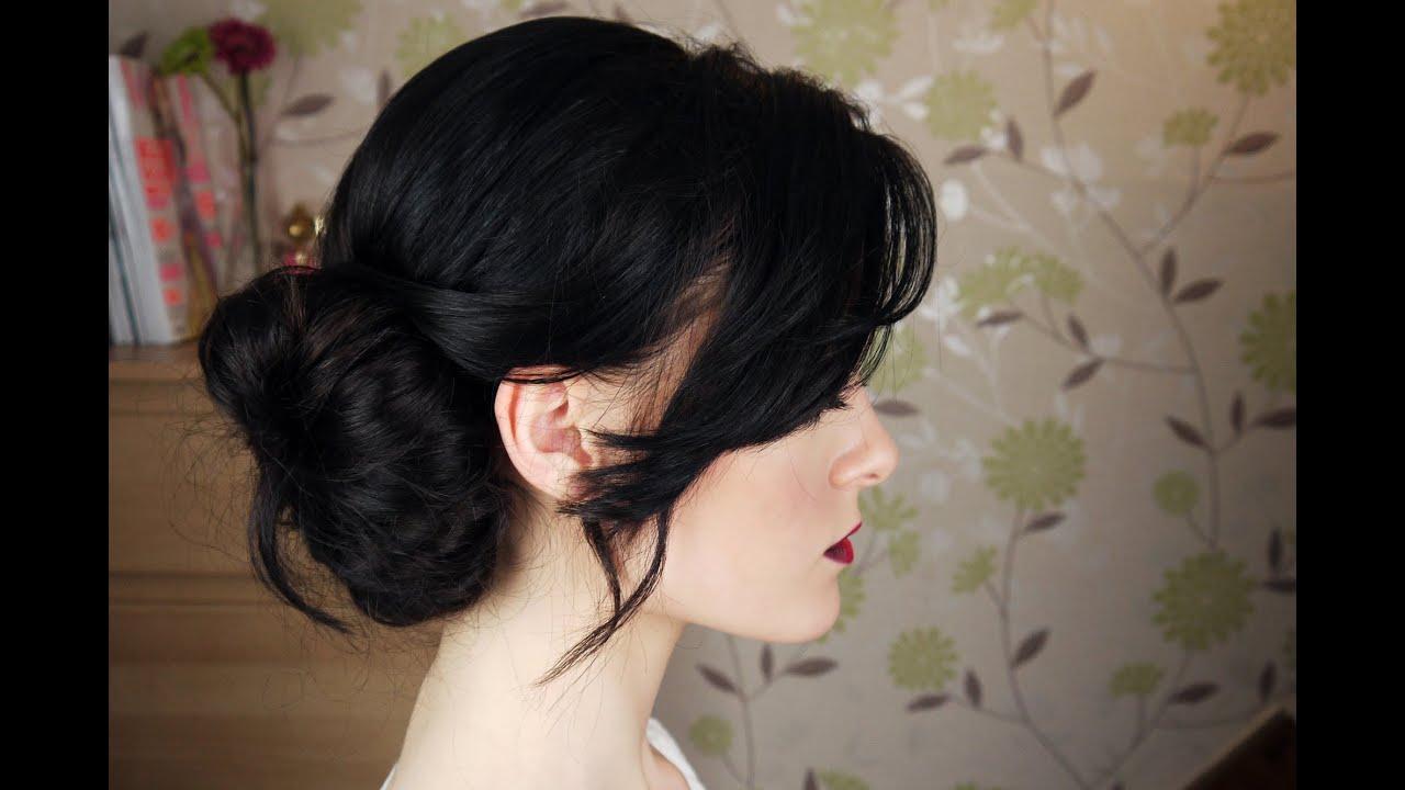 Messy Side Bun Hair Tutorial Youtube