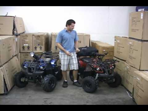TaoTao ATA125d vs Coolster 3125R ATV 4 Wheeler